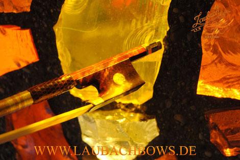 Laubach fine violin  bow collection