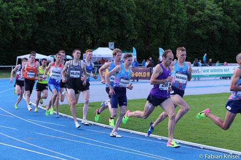 Andreas Vojta läuft in Oordegem zur neuen 5000m-Bestzeit! (Foto: Archiv, Fabian Knisel)
