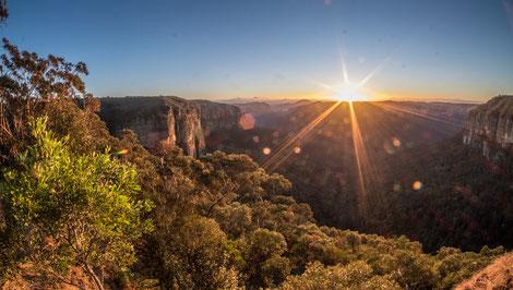 Ein Traum für Naturfreunde (hier in den Blue Mountains)