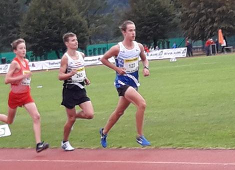 Markus Reißelhuber (hier in der Mitte) holt 2 x Bronze bei den österreichischen U 16 Meisterschaften! (Foto: Maria Reißelhuber)