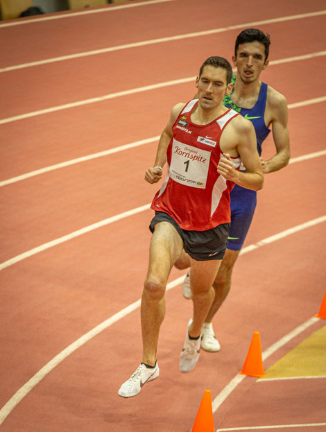 Andreas Vojta, hier noch vor dem späteren Sieger Elzan Bilic