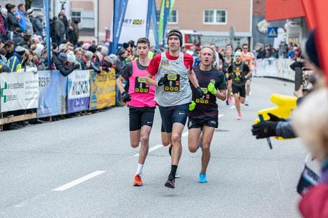 Andreas Vojta lief in Peuerbach so schnell wie noch nie! (Foto: Christian Huber/Veranstalter)