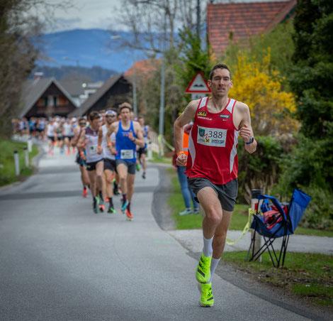 Andreas Vojta ca.  400m nach dem Start