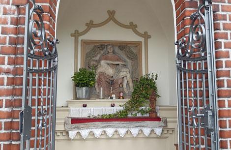 Die Kapelle Lüdinghauser Str. nach der Innenrestaurierung 2019 - Foto: HPD