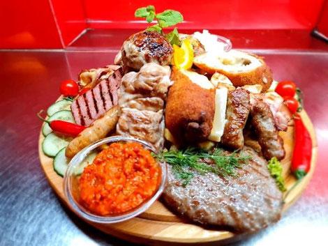 mešano meso Biel