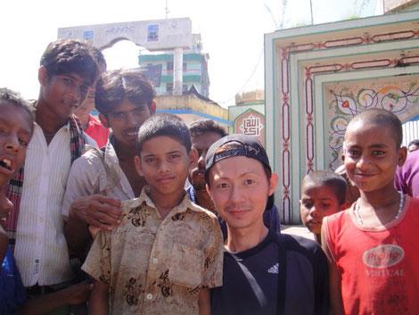 バングラデシュをでボランティア