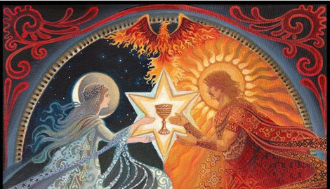 """The Alchemical Wedding"", Emily Balivet (dettaglio)"