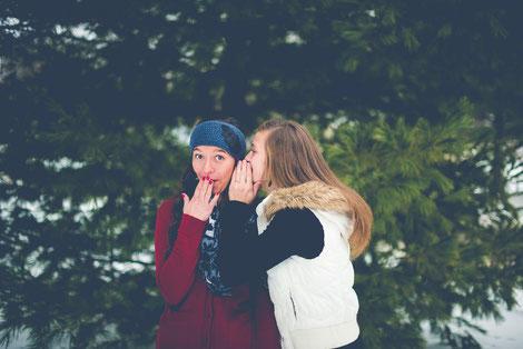 Der Schein trügt, Schein und sein, Gossip, Tratsch, Gerede, Prägungen, Glaubensmuster