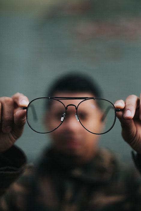Perspektive, Selbstbild, sich selbst sehen, Reflexion