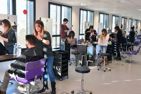 Apprentissage esthétique coiffure CAP PB Mention complémentaire brevet ma^îtrise CFA alimentaire CMA34 École des Métiers Hérault Montpellier