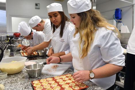 Apprentissage pâtisserie chocolatier glacier confiseur CFA alimentaire CMA34 École des Métiers Hérault Montpellier