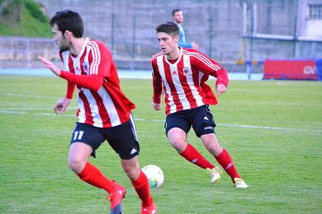 Aser Hernáez y Uriarte, dos de los futbolistas que suman dos goles hasta el momento.