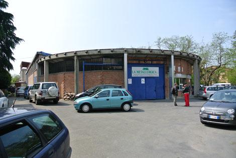 "Wandrés ""Runde Fabrik"" in Cavriago"