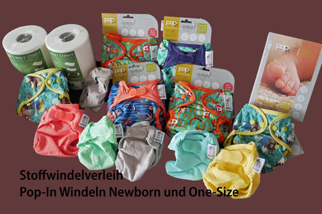 Pop-In Windeln Newborn und One-Size