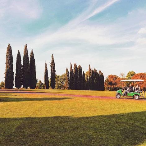 Golf-cart al Parco Sigurtà