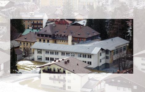 Lage des alten Schulgebäudes