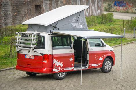 Thule Markise für VW T6 Camper mit Aufstelldach