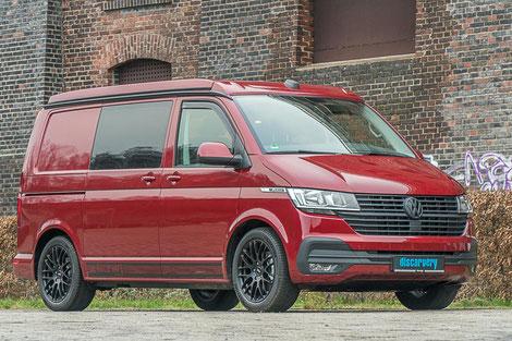 Der VW T6.1 Transporter als Basisfahrzeug für unsere Campervans
