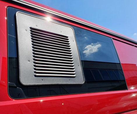Lüftungsgitter für VW T6.1 Schiebefenster