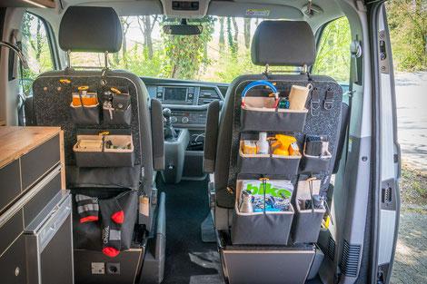 Vantale Rygg  Sitzorganizer für VW Busse