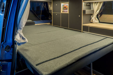Komfort Matratze / Auflage für die EVO3 schlafsitzbank