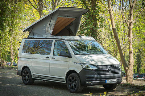 Schlafdach SCA 194 auf einem VW T6 Facelift Transporter