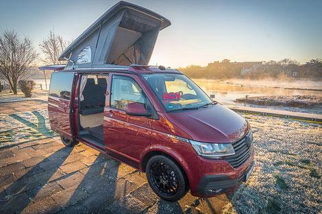 Schlafdach SCA 290 für den VanBUS auf VW T6 Transporter