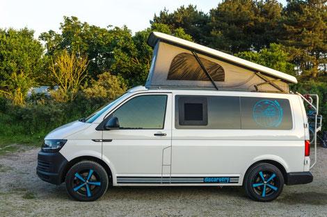 Reimo Easy Fit Aufstelldach für Fahrzeuge mit Klimahimmel