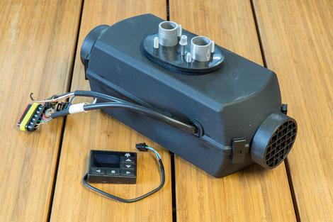 Diesel Luftstandheizung für die Nachrüstung in VW T5 und T6