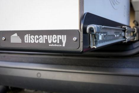 Schwerlast Heckasuzug für die Discarvery Camper