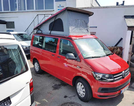 Reimo easy Fit auf VW T6 Multivan