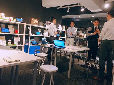 【画像】大阪でビジネスマッチング20180613@エリアベンチャーズ