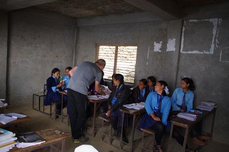 Baseri, Klassenzimmer