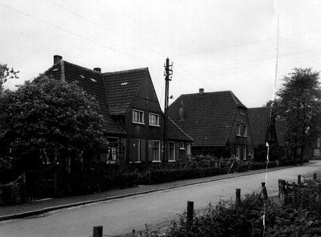 Die Beverstraße hieß früher Waldstraße. (Bildnachweis: Archiv Peter Voß)