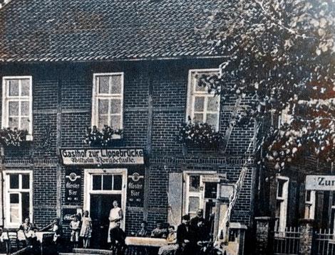 Das Gasthaus im Jahre 1935. (Bildnachweis: Stadtarchiv Bergkamen)