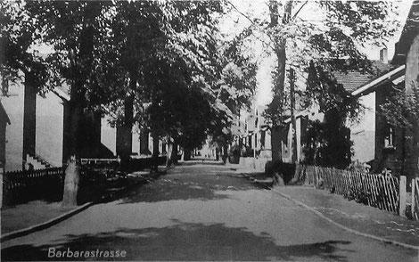 Anna Kalina wohnte in der Barbarastraße in Rünthe. (Bildnachweis: Sammlung u. Archiv Peter Voß)