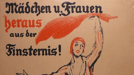 Wahlplakat der SPD aus dem Jahre 1919.