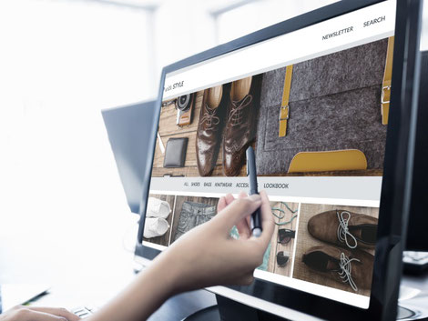 Online-Shop als zusätzlicher Verkaufskanal. Bild: Adobe Stock Photo