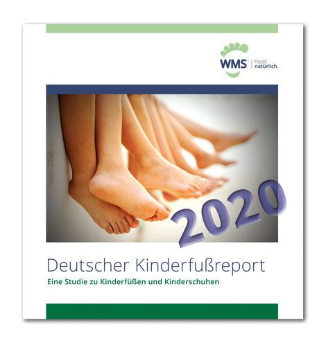 deutscher kinderfußreport 2020 des Deutschen Schuhinstituts DSI kinderfüße studie kinderschuhe