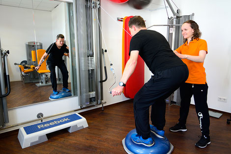 Sportphysiotherapie  (durch den Deutschen Olympischen Sportbund DOSB anerkannt)