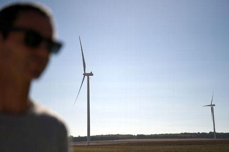Quatre projets pourraient amener 41 éoliennes dans le Tonnerrois. Photo d'illustration. © Jérémie FULLERINGER