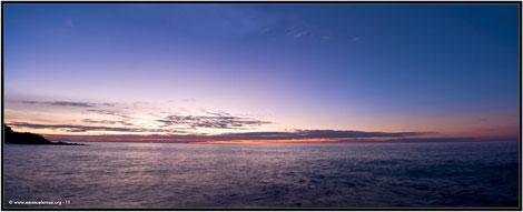 Alba sul mare. Varigotti 2011