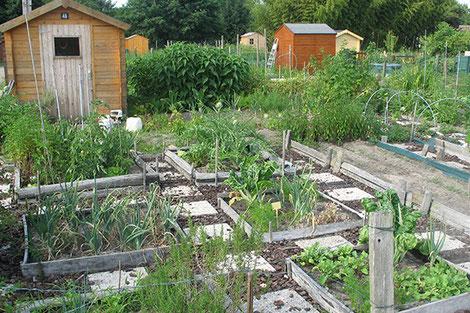 Jardin ouvrier en France