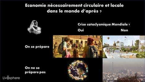 Le Pari de Pascal, revu ... En haut à gauche, image de la série L'Effondrement