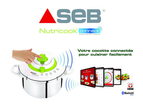 Seb Nutricook Cusines connectée