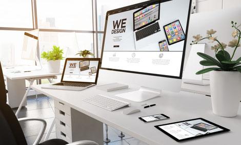 Professionelle Wordpress Webseite von unserer Agentur in Zürich