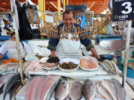 Le marché couvert d'Arequipa