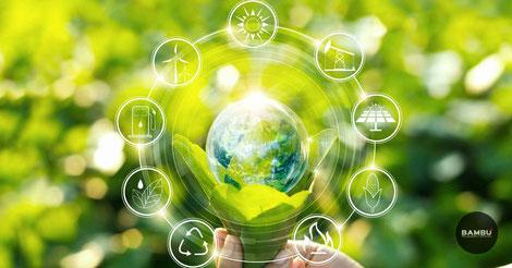 El ahorro de energía contribuye al cuidado del medio ambiente