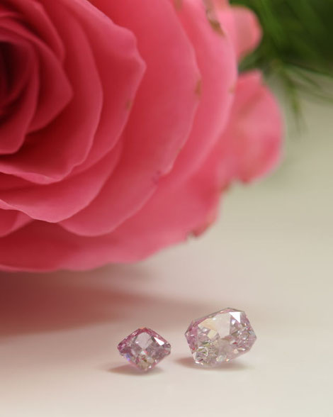 Rosa Diamanten - pink diamonds