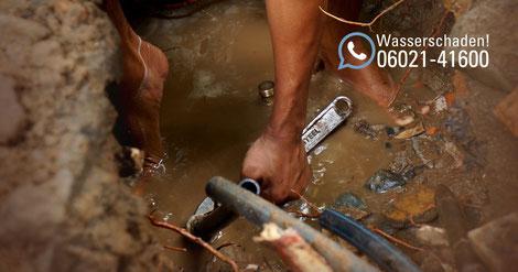 Rasche Wasserschadenhilfe für Rohrbruch, Leitungsschaden und Wasserschaden in Aschaffenburg. SAGA Wasserschaden ist eine Abteilung der Firma SAGA Raumausstattung in Aschaffenburg/Mainaschaff